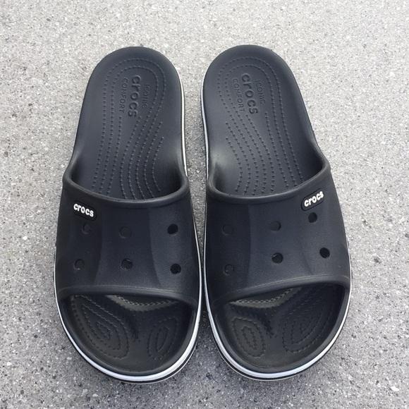 78cd5157174fa CROCS Shoes - Crocs Bayaband Slide